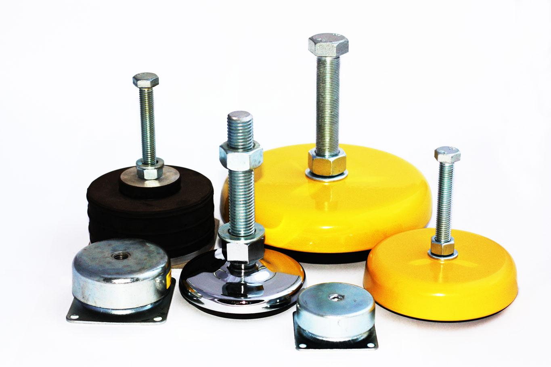 Amortyzatory i elastomery przemysłowe
